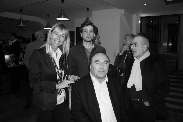 GLASURIT Soiree remise des Prix Concours plus belle photo Calendrier 2014- Philippe STREIFF avec Nathalie DEVILLE et Gilles PERNET