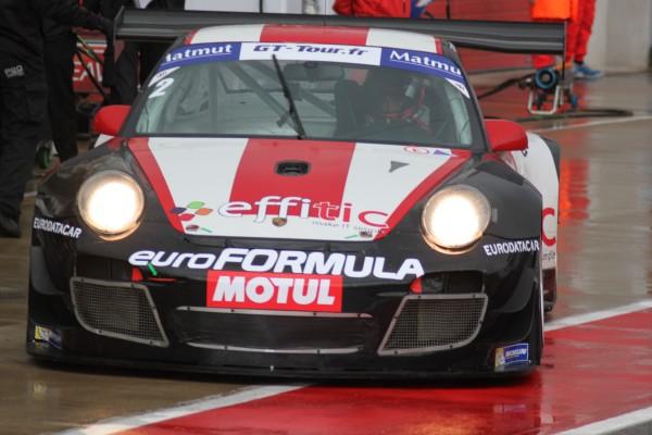 GT TOUR 2013 - Enzo Guibbert Volant Euroformula 2012 et la PORSCHE ALMERAS PRO GT