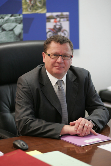 Le Président de la FFM Jacques BOLLE