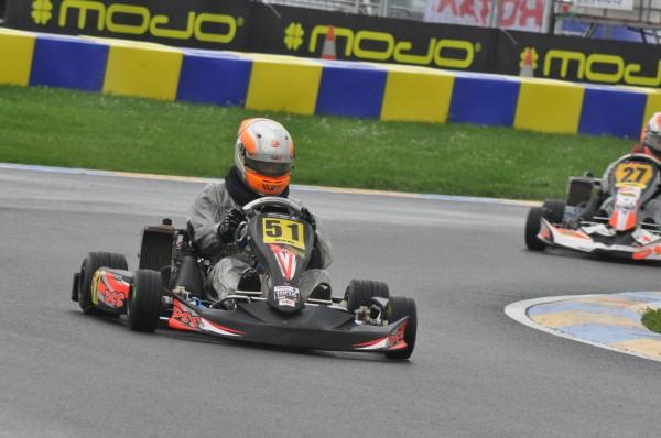 KARTING - Jules Cousin Team DSS 1er NSK et 5me du Championnat de France Rotax Max 2013