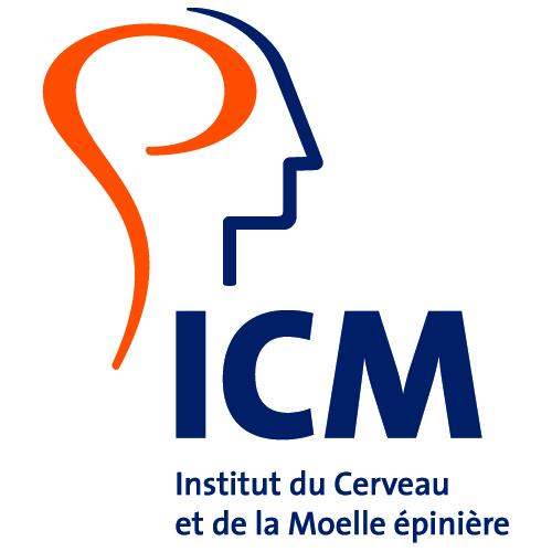 LOGO ICM  - INSTITUT DU CERVEAU ET DE LA MOELLE