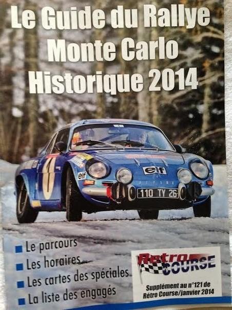 MAGAZINE-RETRO-COURSE-de-Janvier-2014-Supplement-Monte-Carlo-Historique