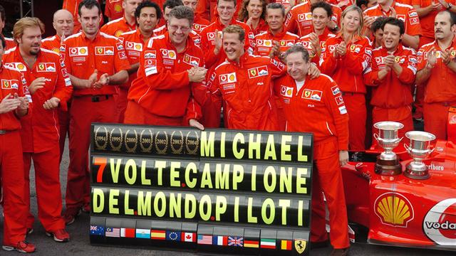 champions du monde f1