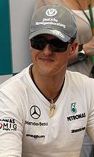 Michael Schumacher 2010 Malaysia