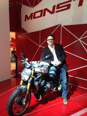 SALON-DE-LA-MTO-de-PARIS-Decembre-2013-Thierry-MOUTERDE-le-Patron-de-DUCATI-France