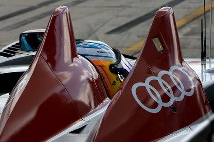 12 HEURES de Sebring Audi - cockpit McNish