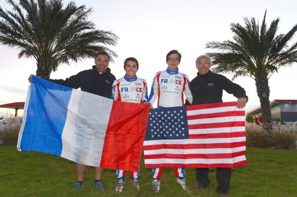 TEAM DSS en Louisane - JF Leguay - B Leguay - J Cousin -Didier Durand - Rotax Max Grand Finals