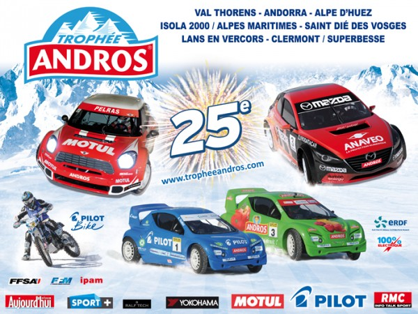 TROPHEE ANDROS 2013 -2014  AFFICHE
