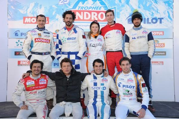 TROPHEE ANDROS 2014 - VAL THORENS - Les concurrents impatients d'en découdre
