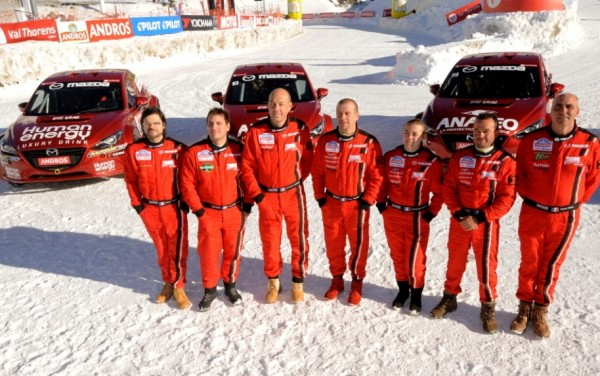 TROPHEE ANDROS - VAL THORENS - Le Team MAZDA au grand complet
