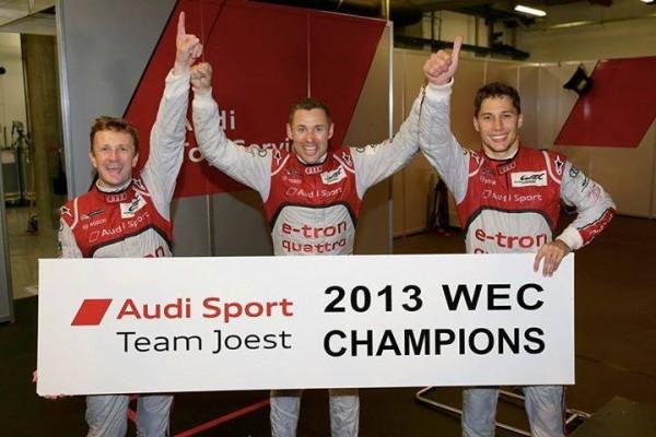 WEC-2013-SHANGHAI-Les-pilotes-de-Audi-N°2-KRISTENSEN-DUVAL-MC-NISH-sont-CHAMPIONS-DU-MONDE-2013