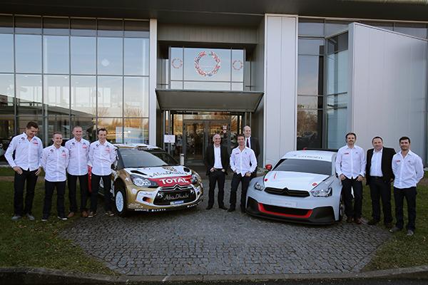 WTCC-et-WRC-avec-les-pilotes-CITROEN-2014-Présentation-lundi-16-decembre-a-SATORY-photo-Gilles-VITRY-pour-autonewsinfo