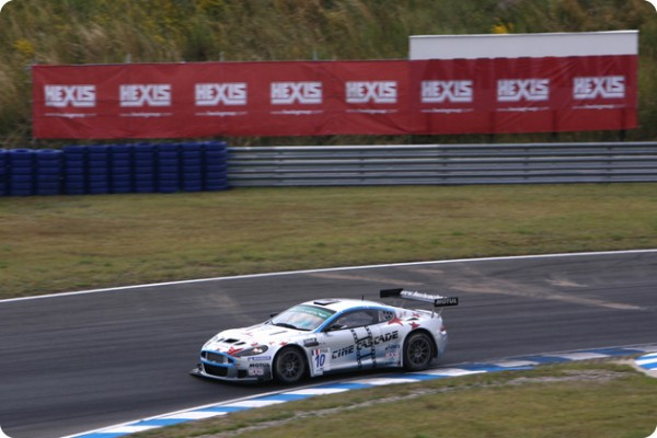 GT3 - ASTON MARTIN du Team HEXIS en 2011