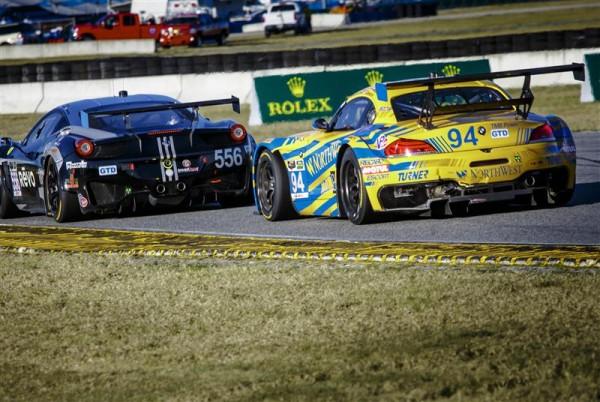 24-H-DAYTONA-2014-LEVEL-5-MOTORSPORTS-Ferrari-458-Italia-TURNER-MOTORSPORT-BMW-Z4-Dane-Cameron-Paul-Dalla-Lana-Augusto-Farfus-Markus-Palttala