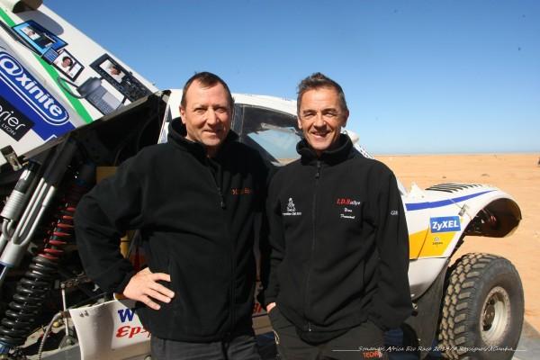 ADRICDA RACE 2014 Patrick MARTIN et Julien FROMONT - Photo Alain Rossignol
