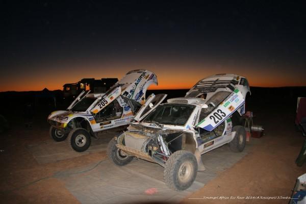 AFRICA RACE 2014 - Les Buggies VW de FROMONT et MARTIN