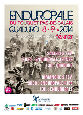 Enduropale2014 Affiche