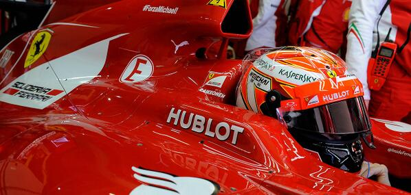F1-2014-JEREZ-Kimi-RAIKKONEN-dans-le-cockpit-de-sa-FERRARI
