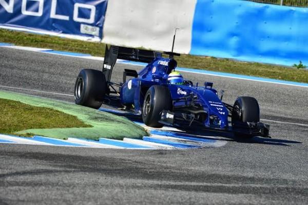 F1-2014-JEREZ-LA-WILLIAMS-MERCEDES-de-FELIPE-MASSA-le-JEUDI-30-JANVIER-photo-Max-MALKA