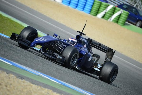 F1-2014-JEREZ-WILLIAMS-MERCEDES-de-BOTTAS-le-29-janvier-Photo-Max-MALKA