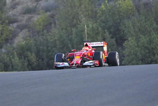 F1-2014-JEREZ-essai-28-Janvier-FERRARI-de-KIMI-RAIKKONEN-Photo-Max-MALKA