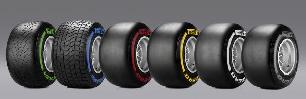 F1-2014-JEREZ-la-gamme-des-pneumatiques-PIRELLI