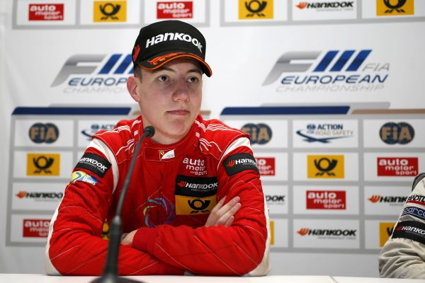 Press conference, 1 Raffaele Marciello (I, Prema Powerteam, Dallara F312