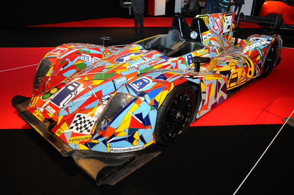 SALON CONCEPT CAR-PARIS-2014- La Morgan-Nissan-OAK-Art-Car