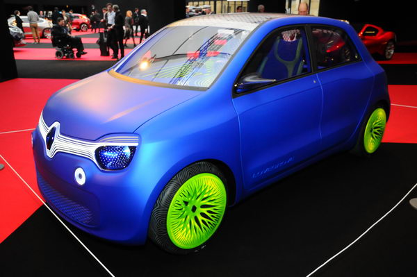 SALON CONCEPT CAR PARIS 2014-Renault-Twingo-Concept