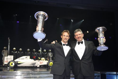 FIA-Gala-Remise-des-Prix-Button-et-Brawn-Double-Champions-du-monde 1999