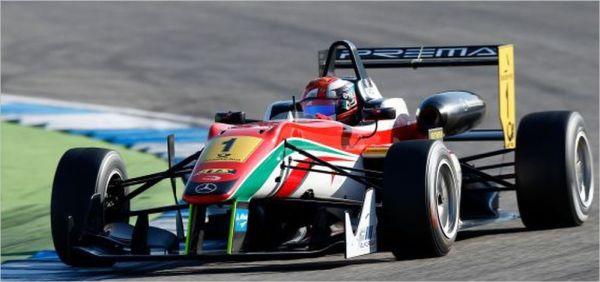 GP-DE-MACAO-F3-2013-La DALLARA-MERCEDES-du TEAM-PREMA, l'équipe CHAMPIONNNE