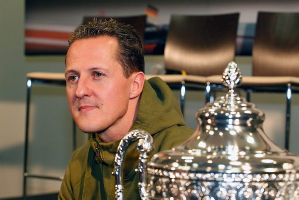 MICHAEL SCHUMACHER PORTRAIT -photo Bernard BAKALIAN