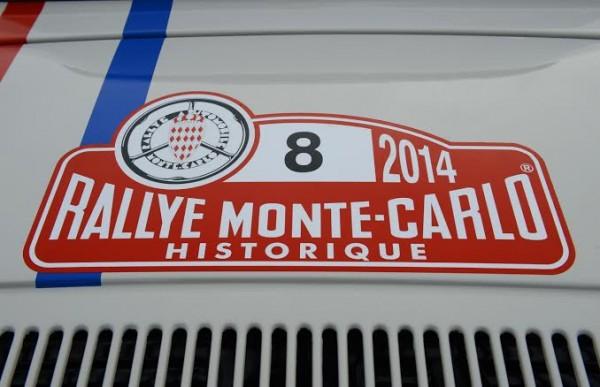 MONTE-CARLO-HISTORIQUE-2014-Plaque-voiture-GORDINI-Num-8-photoMax-MALKA