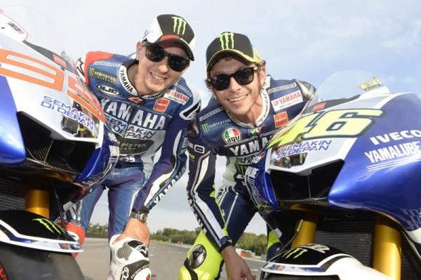 MOTO-GP-2014-LORENZO-et-ROSSI : GROSSE ENVIE !