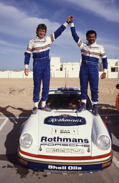 PRODRIVE 1984 - AL HAJRI CHAMPION du MOYEN ORIENT des RALLYES avec la PORSCHE PRODRIVE