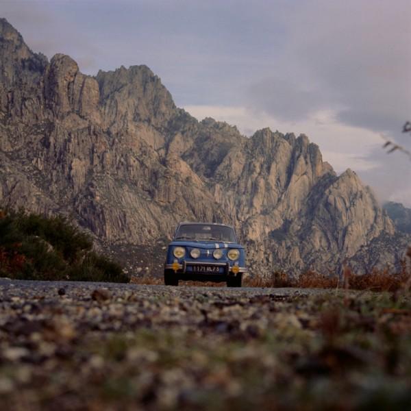 R8 GORDINI au MONTE CARLO dans les Alpes de Haute Provence