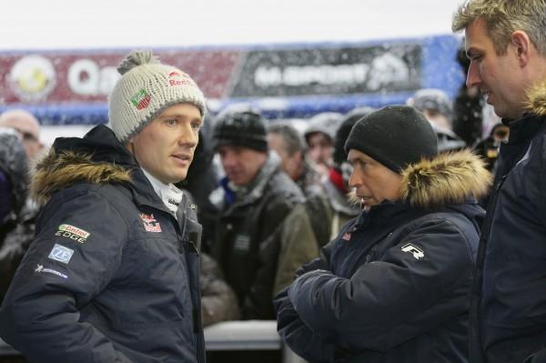 WRC 2014 - MONTE CARLO- OGIER ET jOST CAPITO