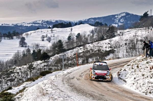 WRC-2013-RALLYE-MONTE-CARLO-DS3-CITROEN-de-SEBASTIEN-LOEB Photo Jo LILLINI