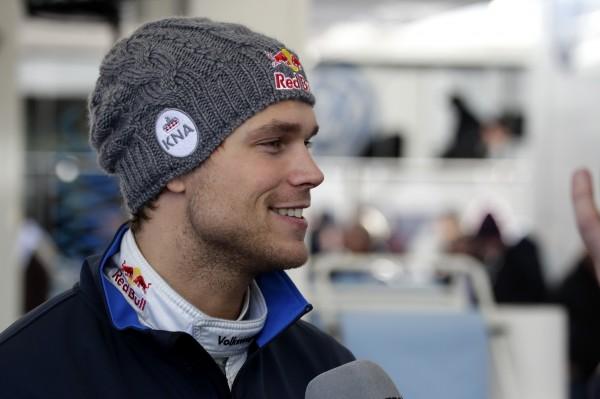 WRC 2014 MONTE CARLO - Andreas MIKKELSEN a l arrivee.