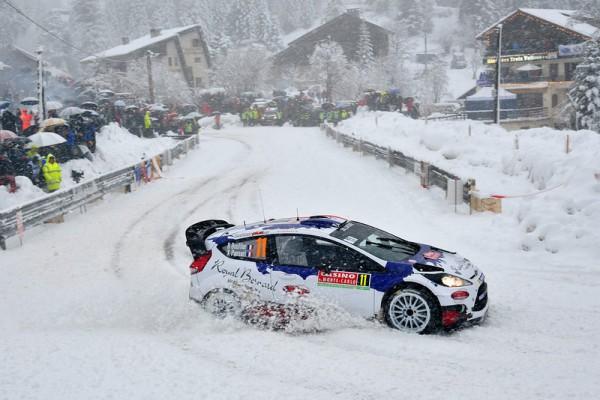 WRC 2014 MONTE CARLO FORD FIESTA de BRYAN BOUFFIER dans le TURINI SAMEDI 18 Janvier