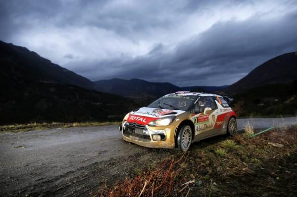 WRC 2014 MONTE CARLO GAP SISTERON DS3 de MEEKE