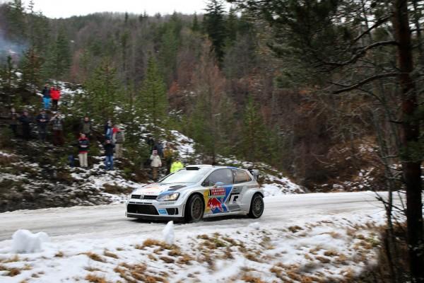 WRC 2014  MONTE CARLO   GAP SISTERON  POLO Seb OGIER