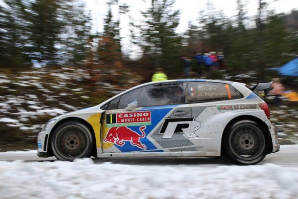 WRC 2014 MONTE CARLO GAP SISTERON VW Polo Seb OGIER