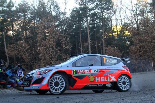 WRC-2014-MONTE-CARLO-HYUNDAI-I20-WRC-de-Thierry-NEUVILLE - Photo Jo LILLINI