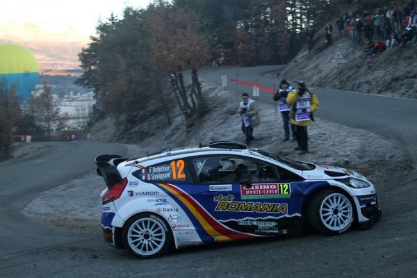 WRC-2014-MONTE-CARLO-La-FORD-Fiesta-de-FRANCOIS-DELECOUR-Dominique-SAVIGNONI.
