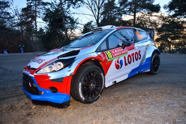 WRC 2014 MONTE CARLO - La FORD de ROBERT KUBICA