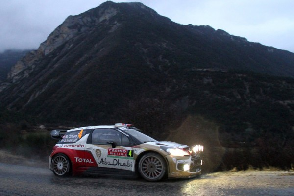 WRC 2014 MONTE CARLO Mads OSTBERG DS3