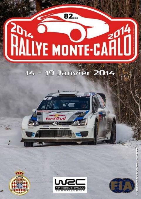 WRC 2014  MONTE CARLO  Plaque