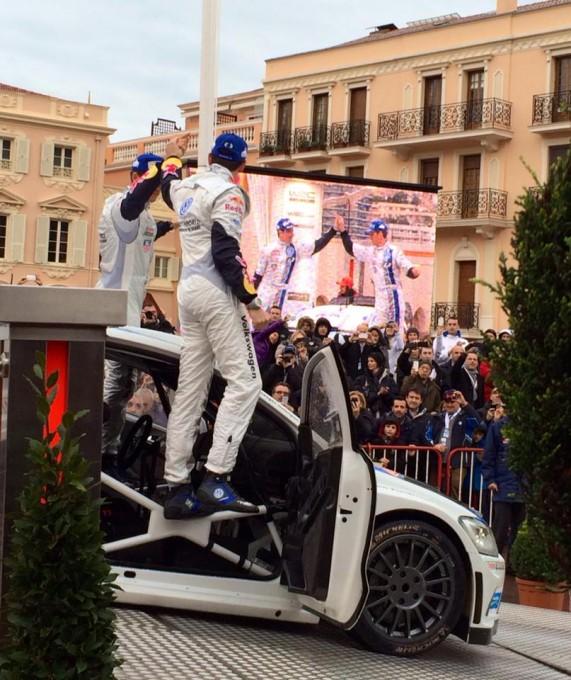 WRC 2014 MONTE CARLO Podium et 1ere place pour OGIER et INGRASSIA