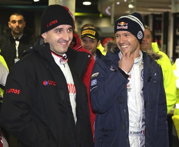 WRC-2014- Sébastien OGIER et Robert-KUBICA